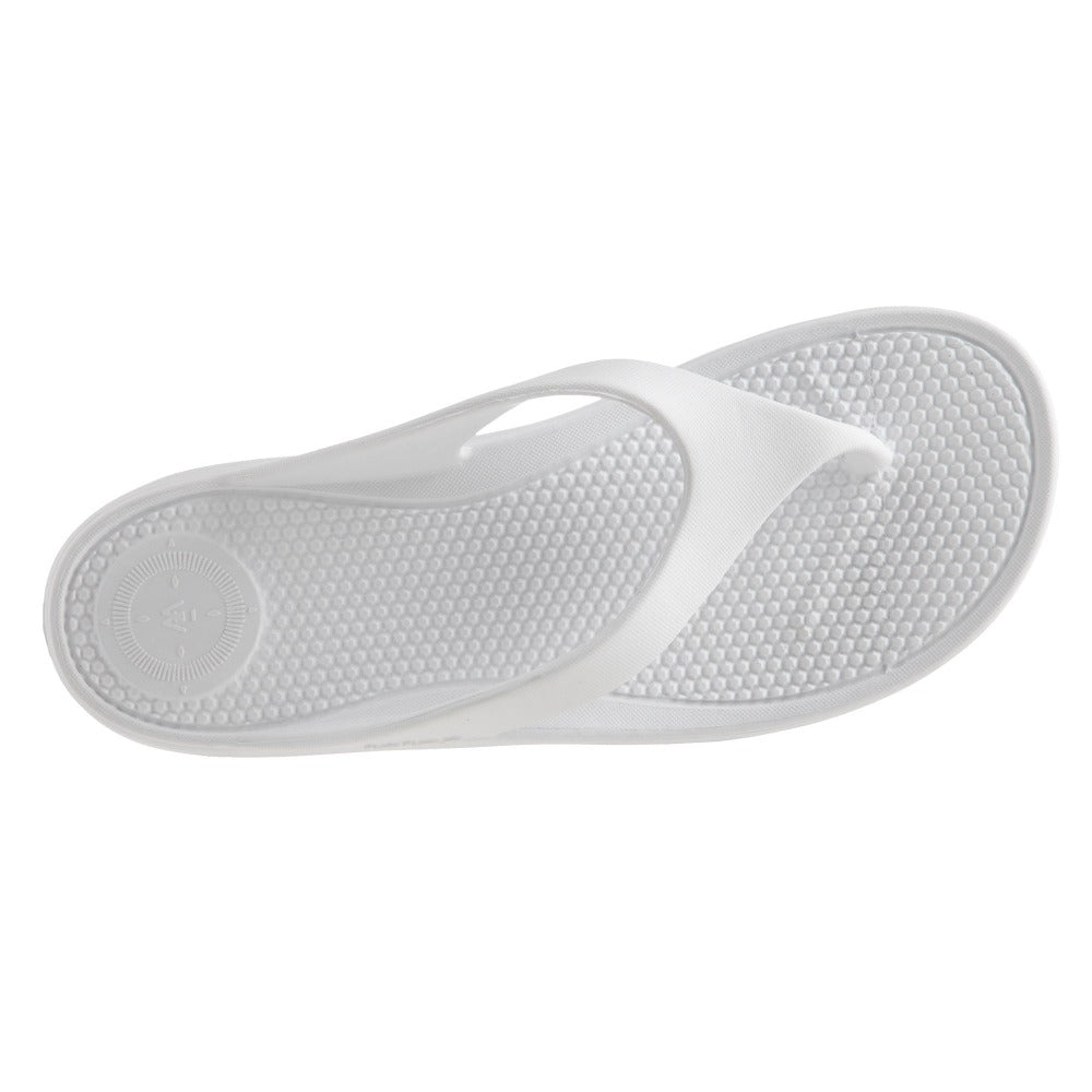 Women's Sol Bounce Ara Thong Sandal in White Inside Top View