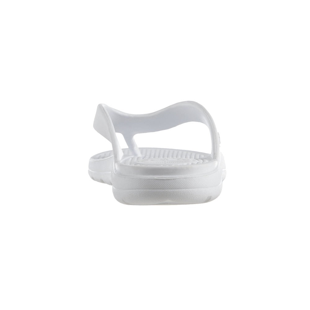 Women's Sol Bounce Ara Thong Sandal in White Back