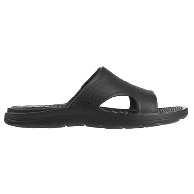 Men's Sol Bounce Ara Vented Slide in Black Profile
