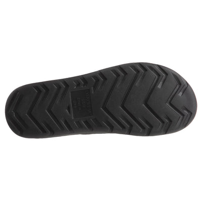 Men's Sol Bounce Ara Vented Slide in Black Bottom Sole Tread