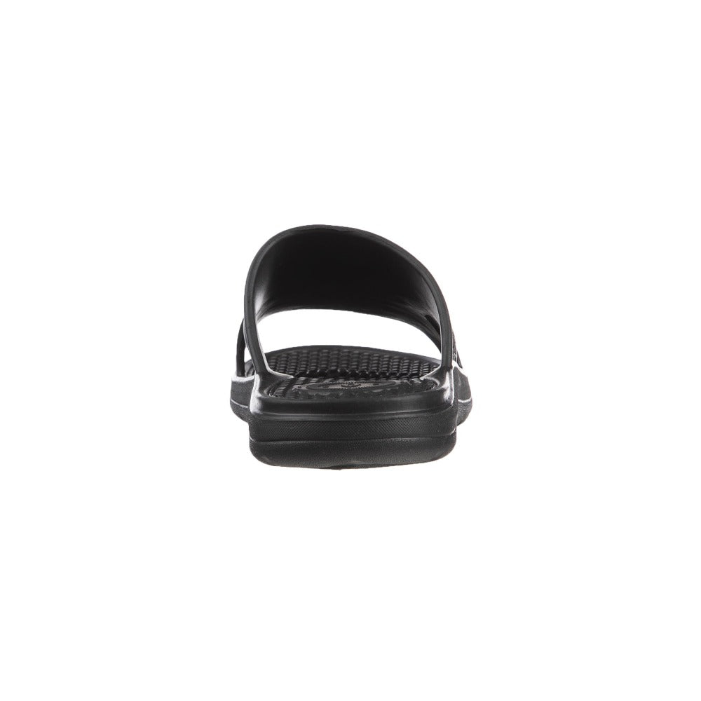 Men's Sol Bounce Ara Vented Slide in Black Back