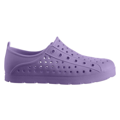 Kid's Sol Bounce Splash & Play Eyelet Sneaker in Paisley Purple Profile