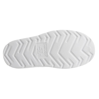 Kid's Sol Bounce Splash & Play Eyelet Sneaker in White Bottom Sole Tread
