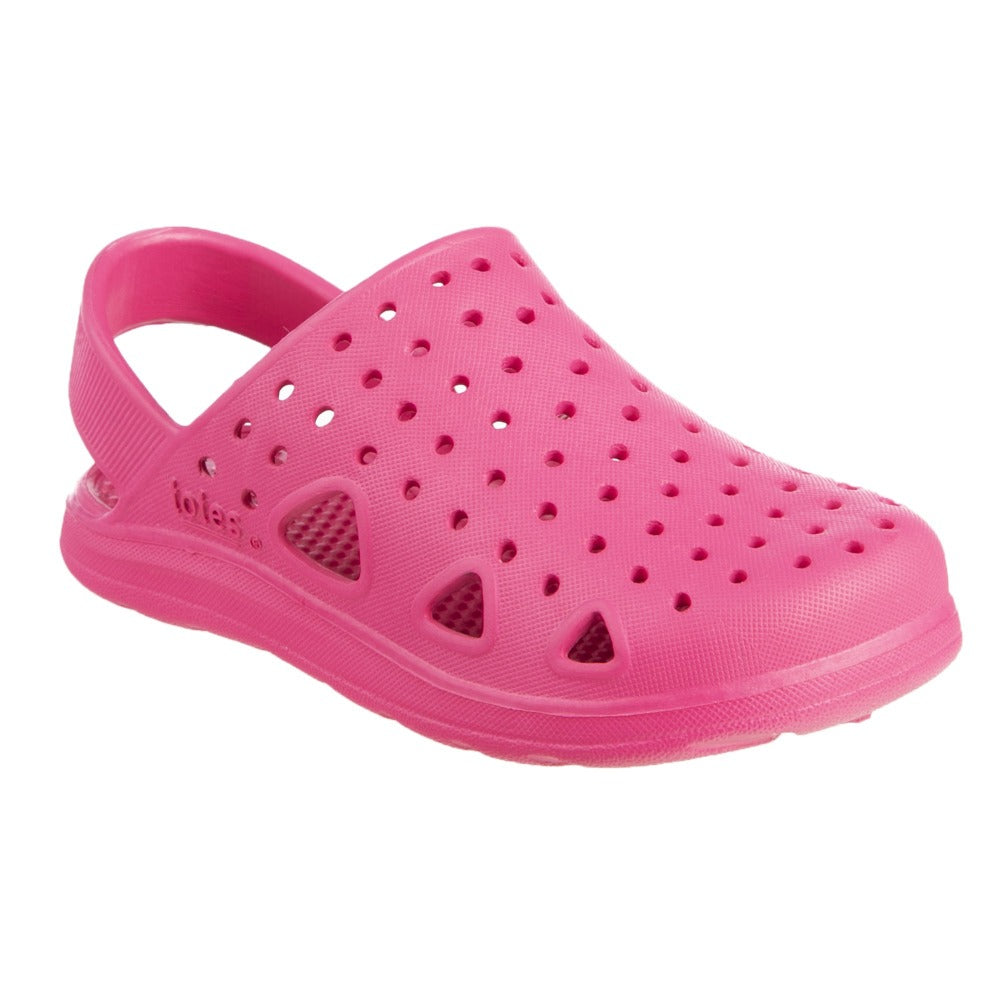 Kid's Sol Bounce Splash & Play Clog in Azalea Right Angled View