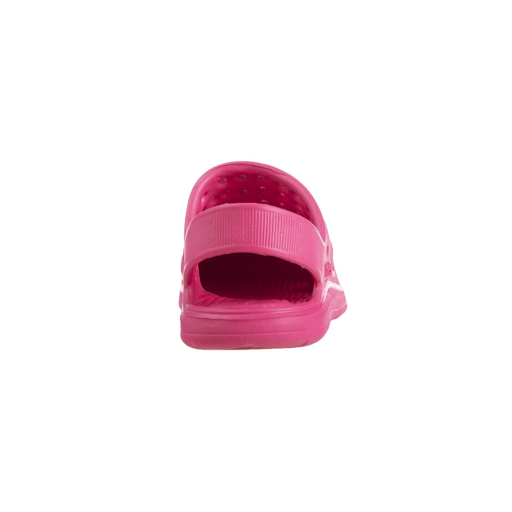 Kid's Sol Bounce Splash & Play Clog in Azalea Back
