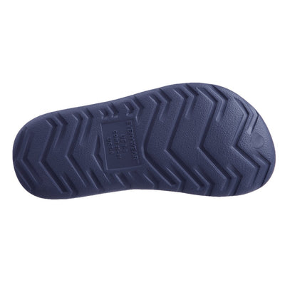Kid's Sol Bounce Splash & Play Clog in Navy Blue Bottom Sole Tread