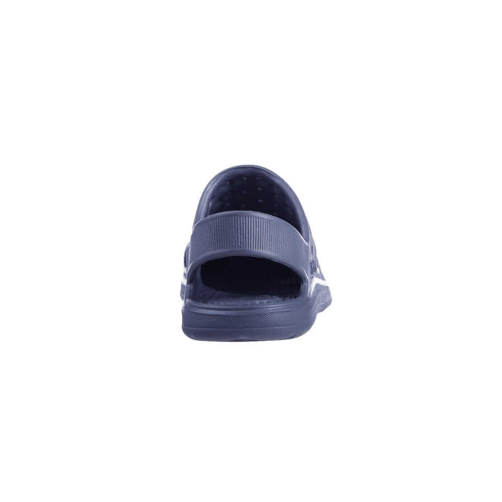 Kid's Sol Bounce Splash & Play Clog in Navy Blue Back