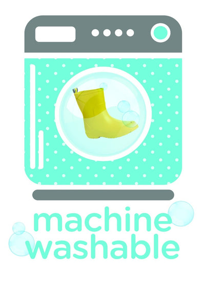 Totes Cirrus Kids Charley Boot in Washing Machine being Washed