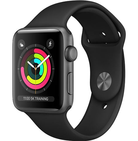 Apple Watch Series 3 in space grey or white