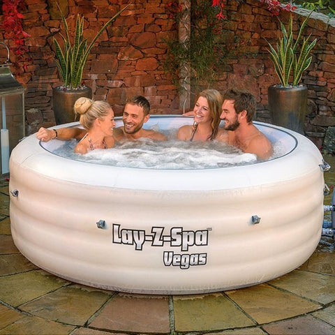 IN STOCK Lay Z Spa Vegas 4-6 person Hot Tub - DRAW TONIGHT!