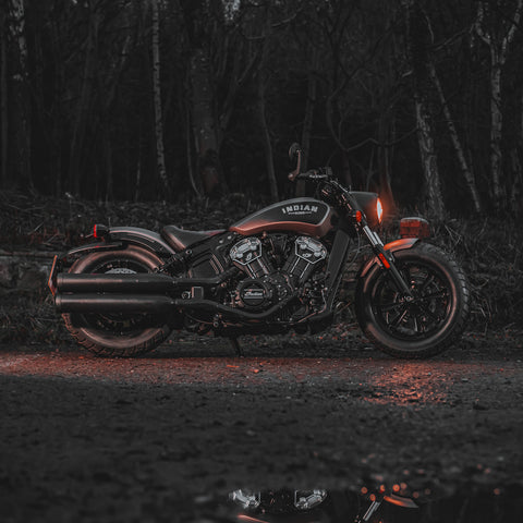 Stunning Indian Scout Bobber