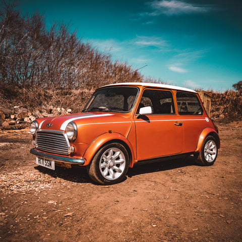 Mint 1998 Mini Cooper - Volcano Orange with Sportpack!