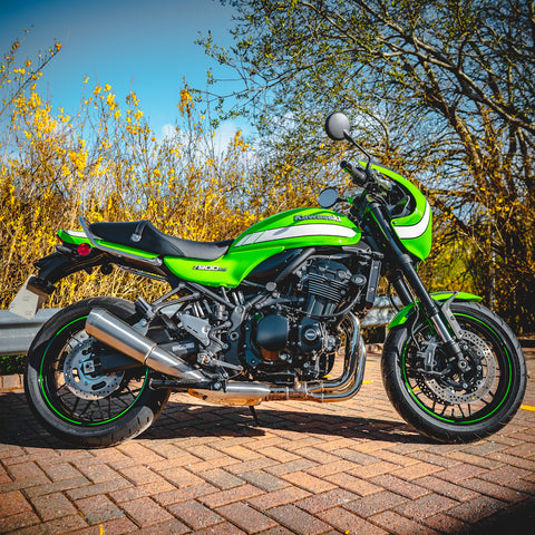 Spotless Kawasaki Z900RS  - only 3000 miles