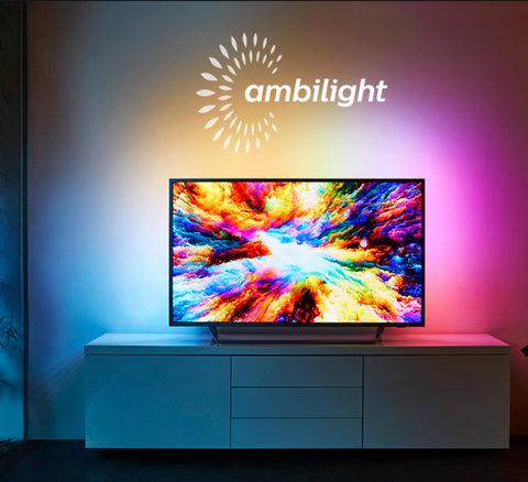 "55"" Phillips Smart 4k Ambilight TV - only 90 tickets!"