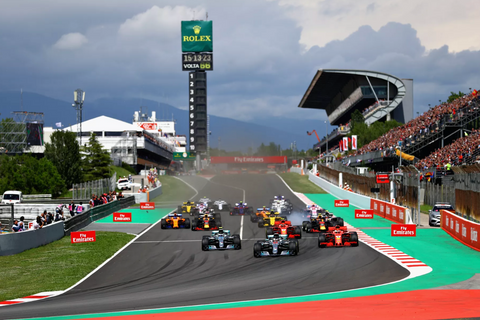 Win a trip to see the Barcelona F1 for 2!