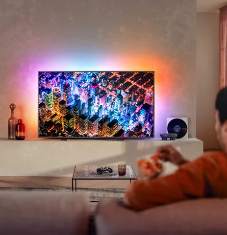 "HUGE Philips 65"" Smart Ambilight 4K Ultra HD TV"