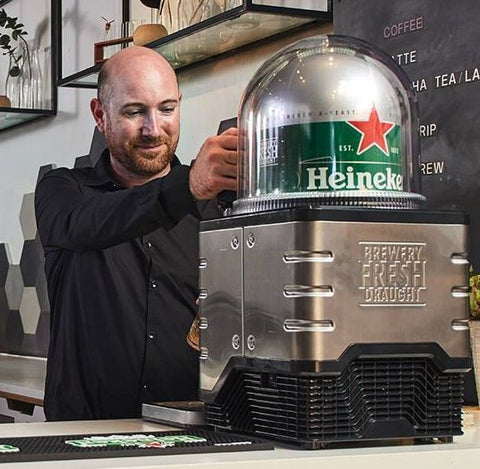 WIN A BLADE Beer Tap With 2 x 8l Kegs of Moretti or Heineken