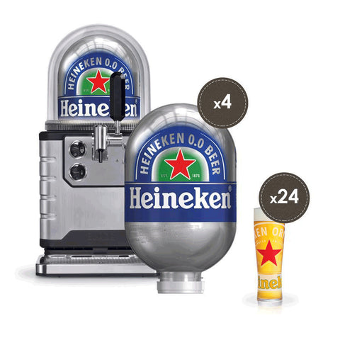 Blade Beer Machine with 4 Heineken Kegs!