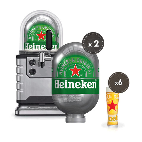 WIN Blade Beer Machine - with 2 kegs!