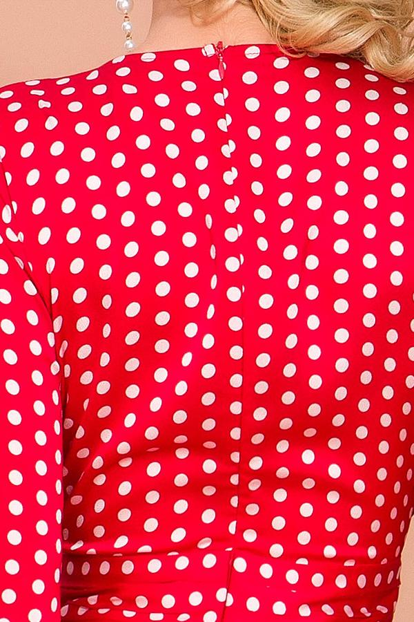 Load image into Gallery viewer, Red Polka Dots Long Sleeves Bohemian Dress