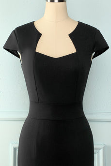 Mother Black Bodycon Dress