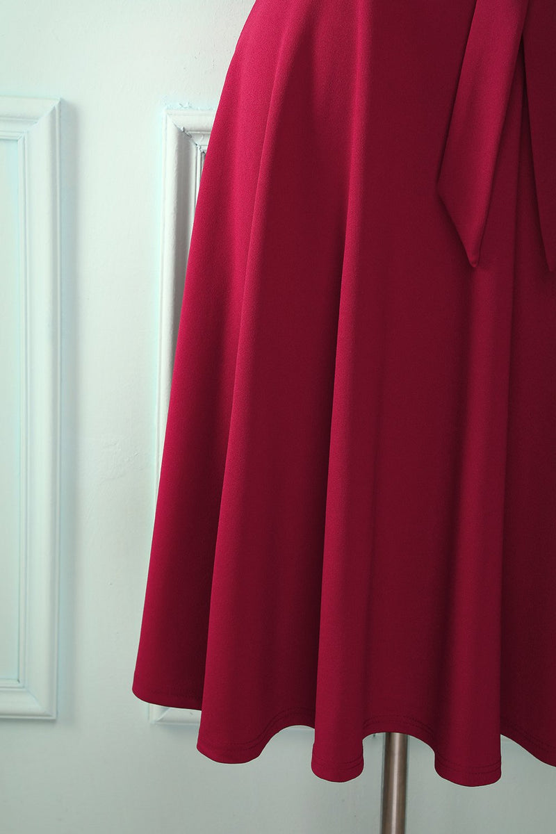 Load image into Gallery viewer, Soft Burgundy Dress