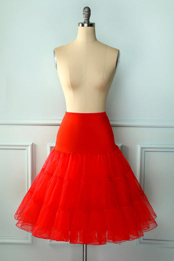 Red Tutu Petticoat