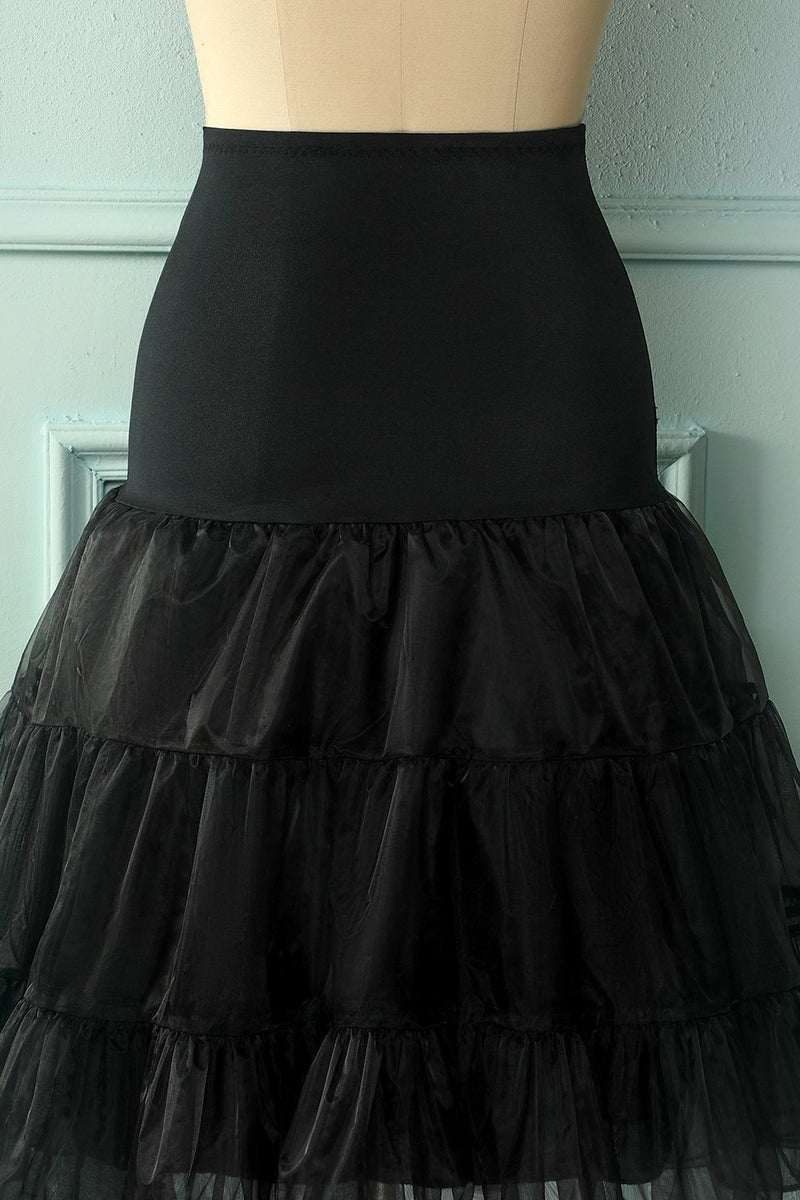 Load image into Gallery viewer, Black Tutu Petticoat