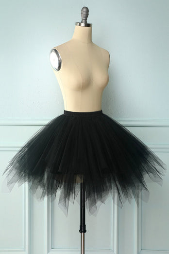 Black Halloween Dance Skirt