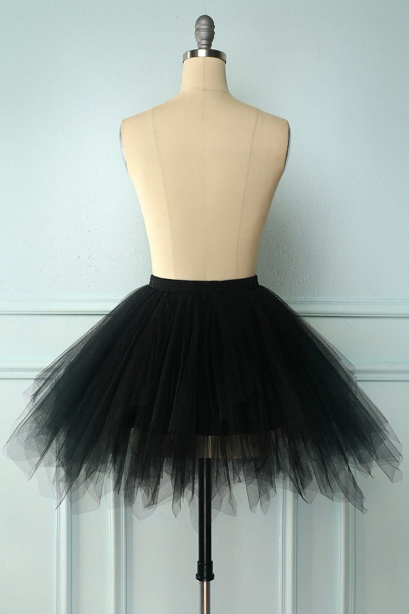 Load image into Gallery viewer, Black Halloween Dance Skirt