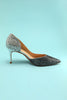 Load image into Gallery viewer, Bling Bling Pointy Heels
