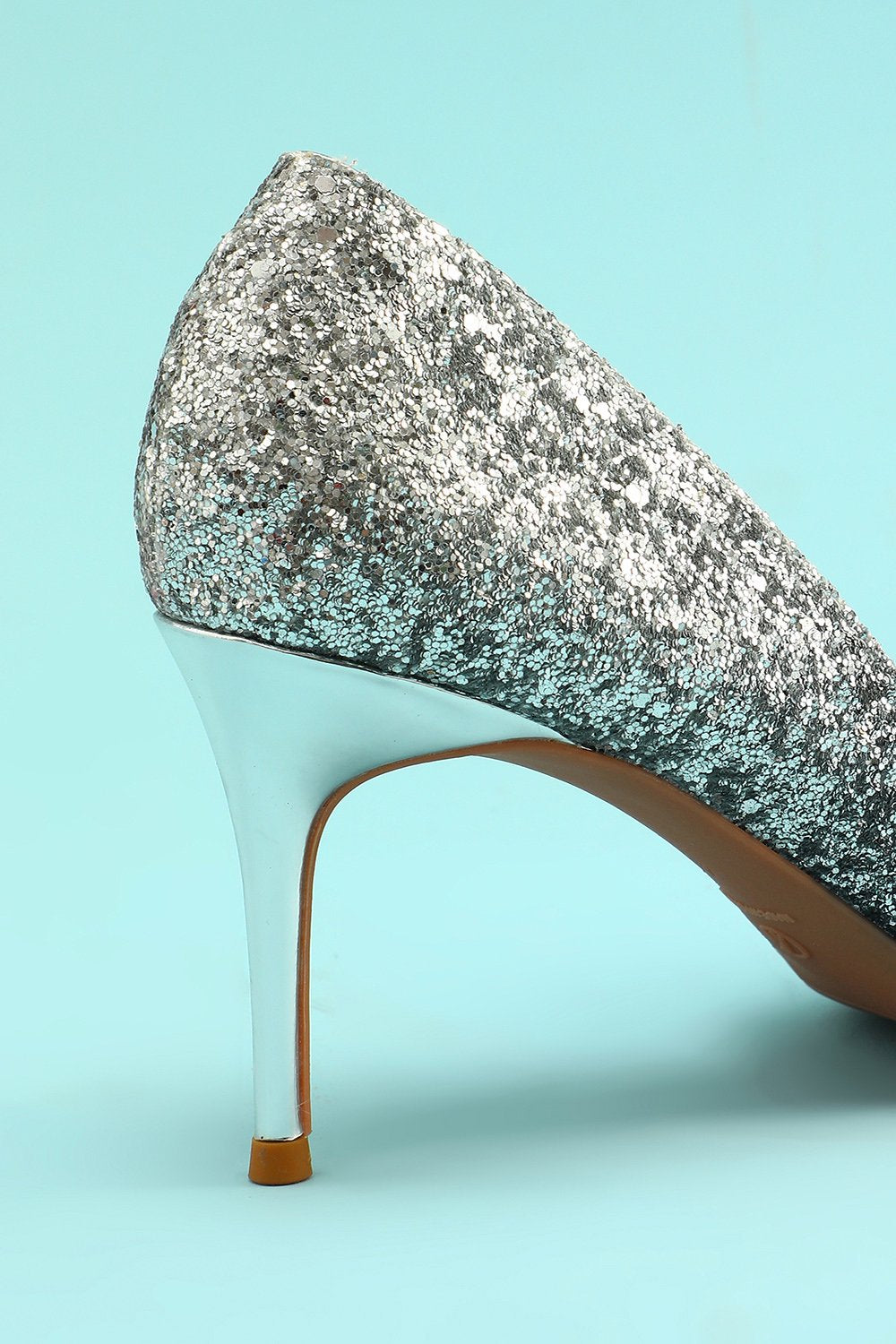 Bling Bling Pointy Heels