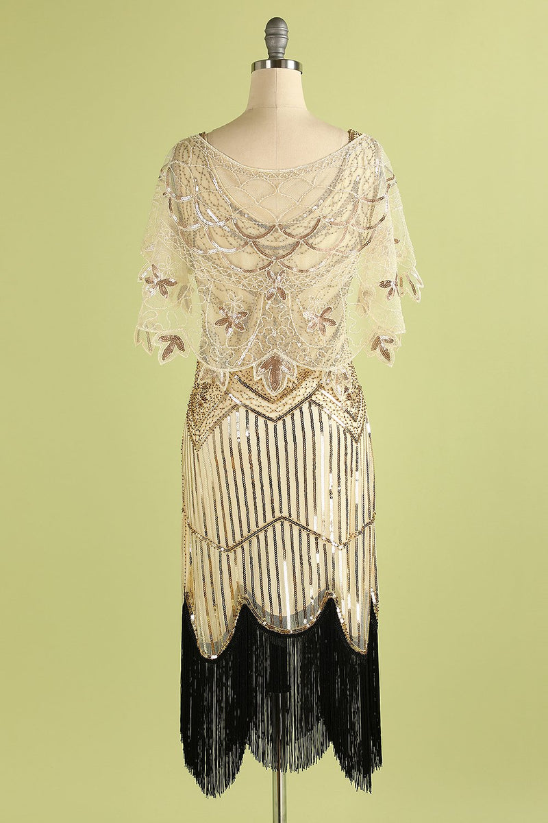 Load image into Gallery viewer, 1920s Sequin Women Cape