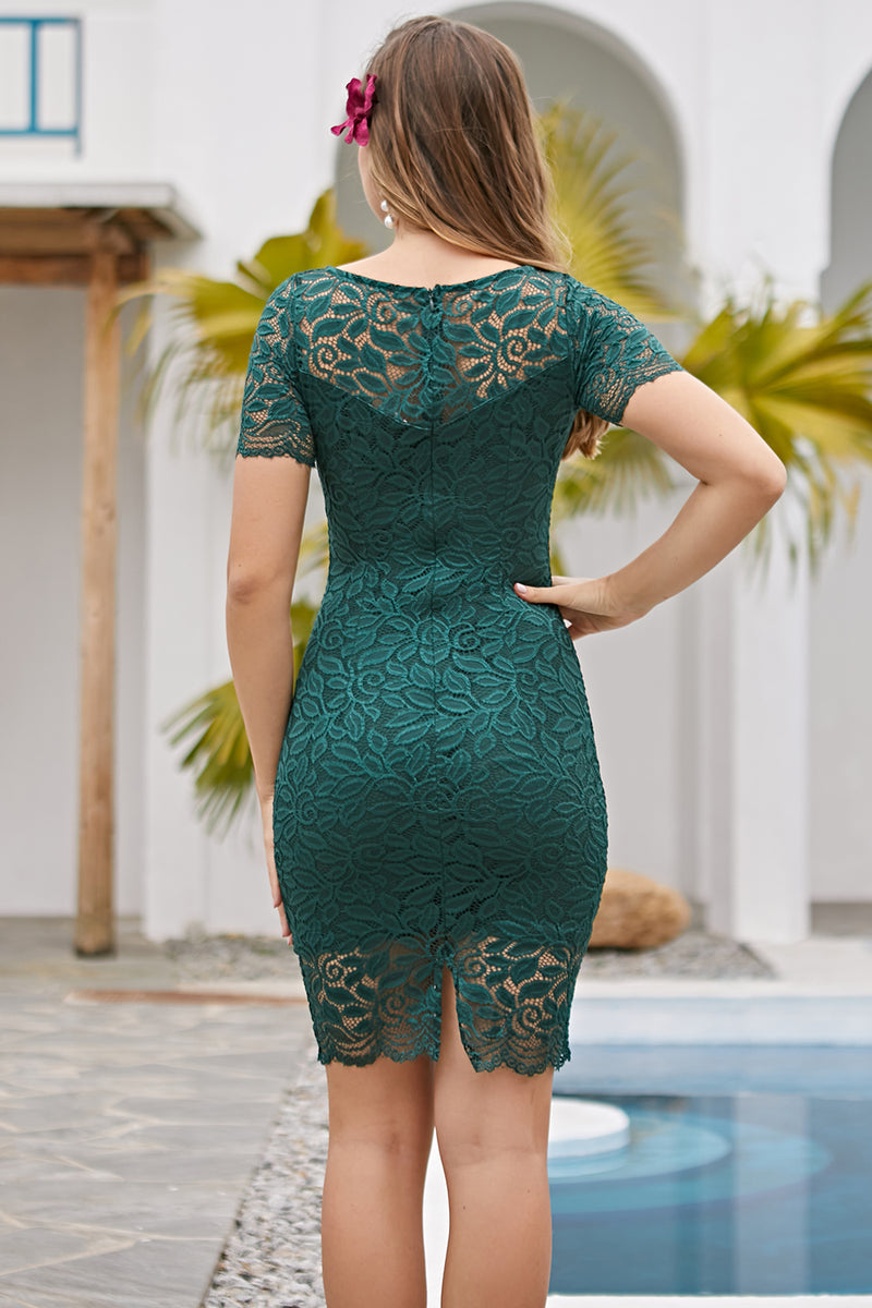 Load image into Gallery viewer, Green Bodycon Dress