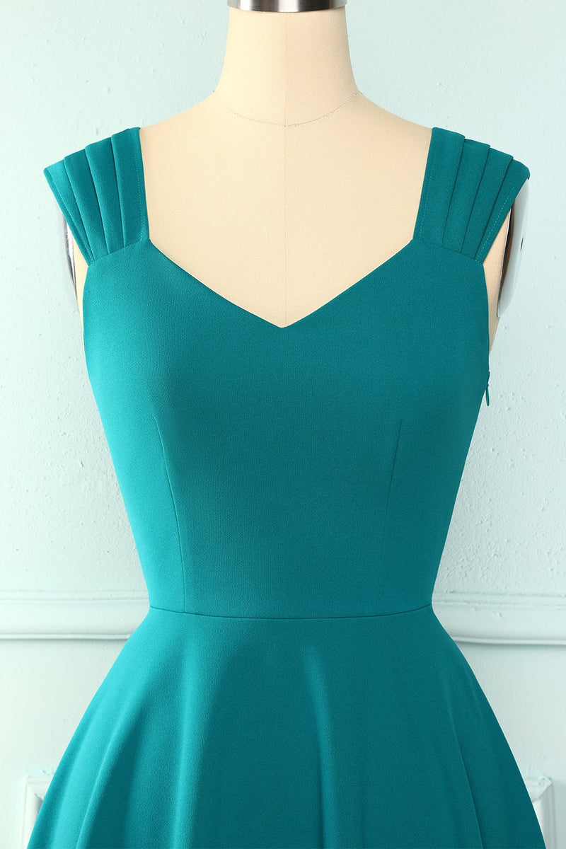 Load image into Gallery viewer, Turquoise Ruffle Dress