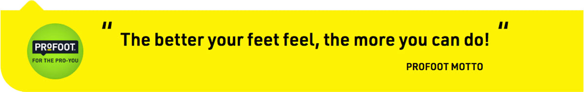 profoot footcare motto
