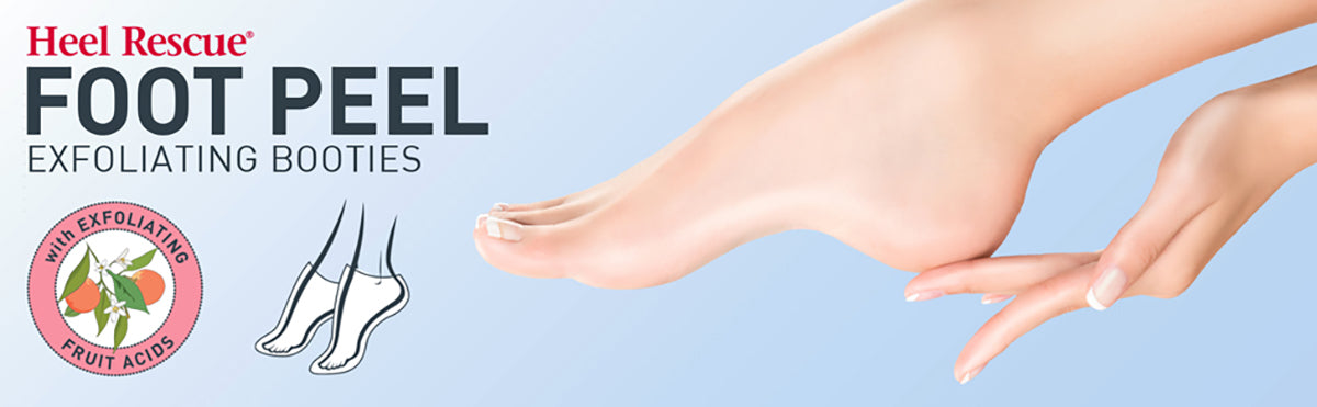 profoot heel rescue foot peel exfoliating booties