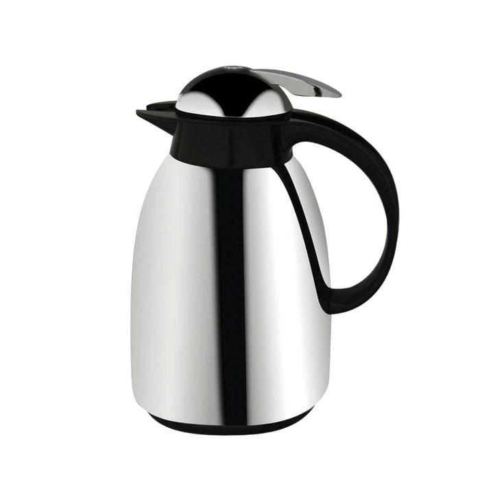 Mercurio Chrome Thermo Jug 1 L by Metaltex