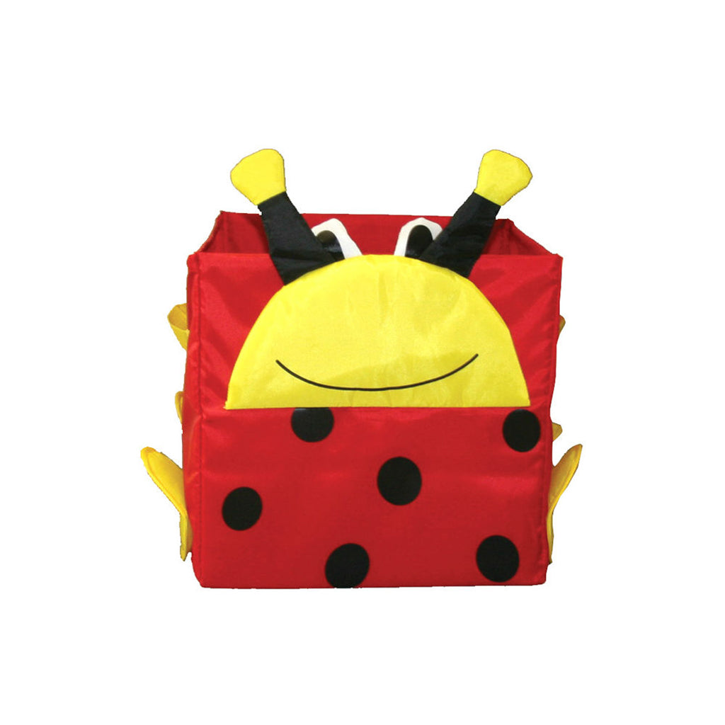 Toy Storage Cube, Lady Bug by Counseltron