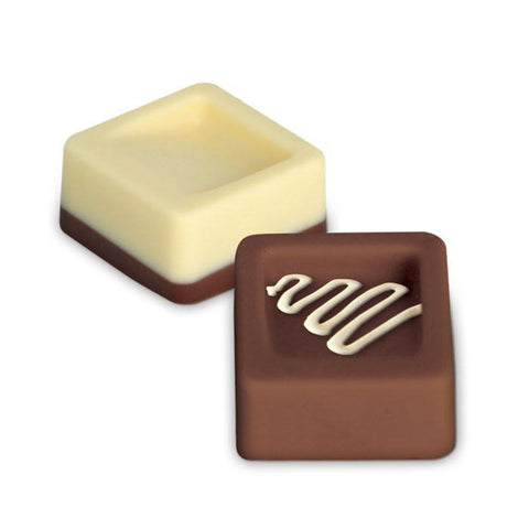 Chocolate Mould Tray Cube Shaped With Footed Tray