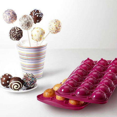Cake Pops Mould by Metaltex