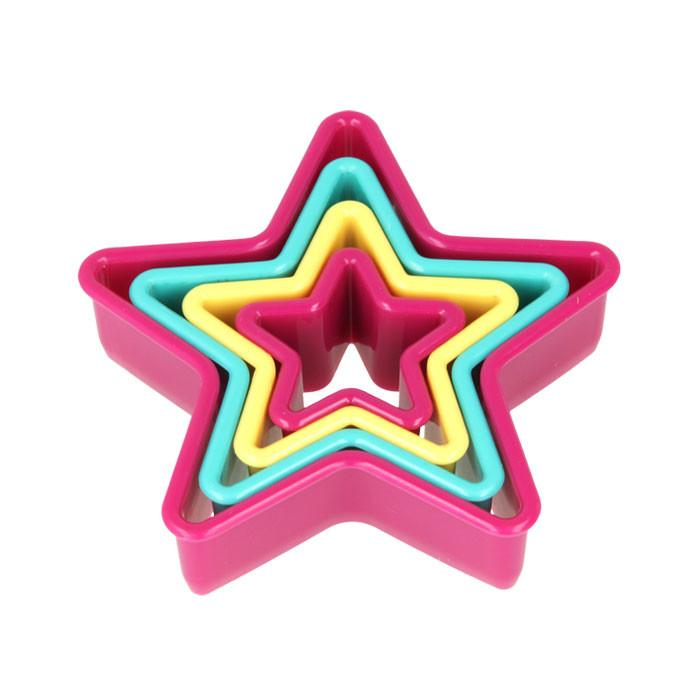 Nesting Cookie Cutters Star Shapes (Set of 4)