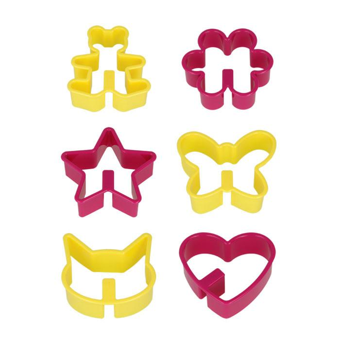Cookie Cutters Over Mug (Set of 6)