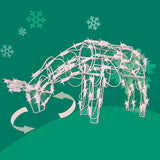 Holiday Animated Feeding Doe<br>48 Inch - 175 Mini Lights
