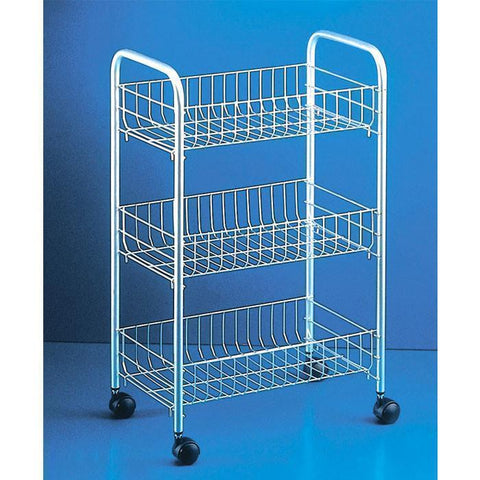 """Lugano"" Rolling Cart by Metaltex"