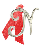 "Holiday ""Romantique Fonts"" Ornaments Made with Crystals from Swarovski™"