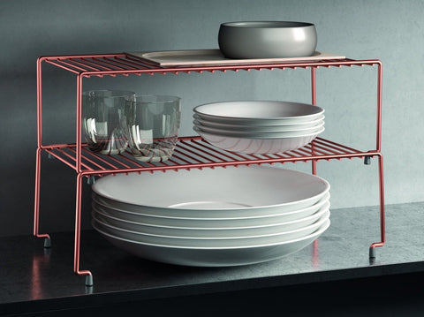Brooklyn Copper Stackable Shelf by Metaltex