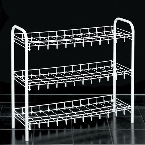"""Slimmer Scarpa"" Shoe Rack (3 Tier) by Metaltex"