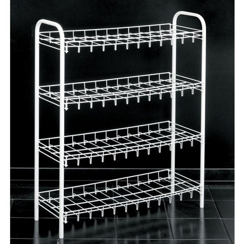 """Slimmer Scarpa"" Shoe Rack (4 Tier) by Metaltex"