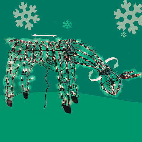 Holiday Feeding Doe<br>44 Inch - 175 Mini Lights